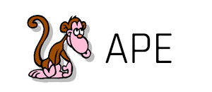 ape monkeys audio logo